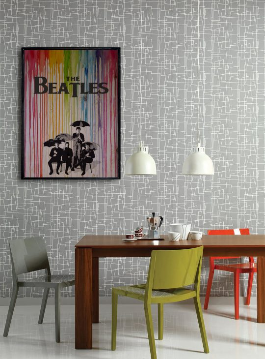 Beatles Ahşap Tablo