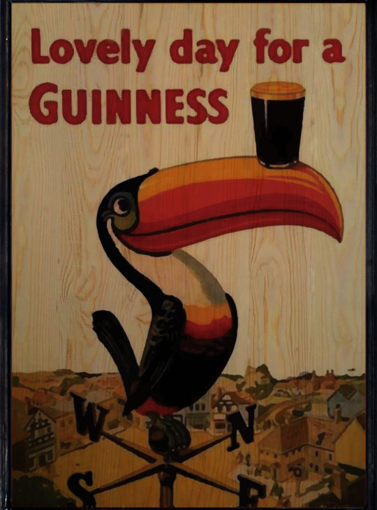 Guinness Ahşap Tablo
