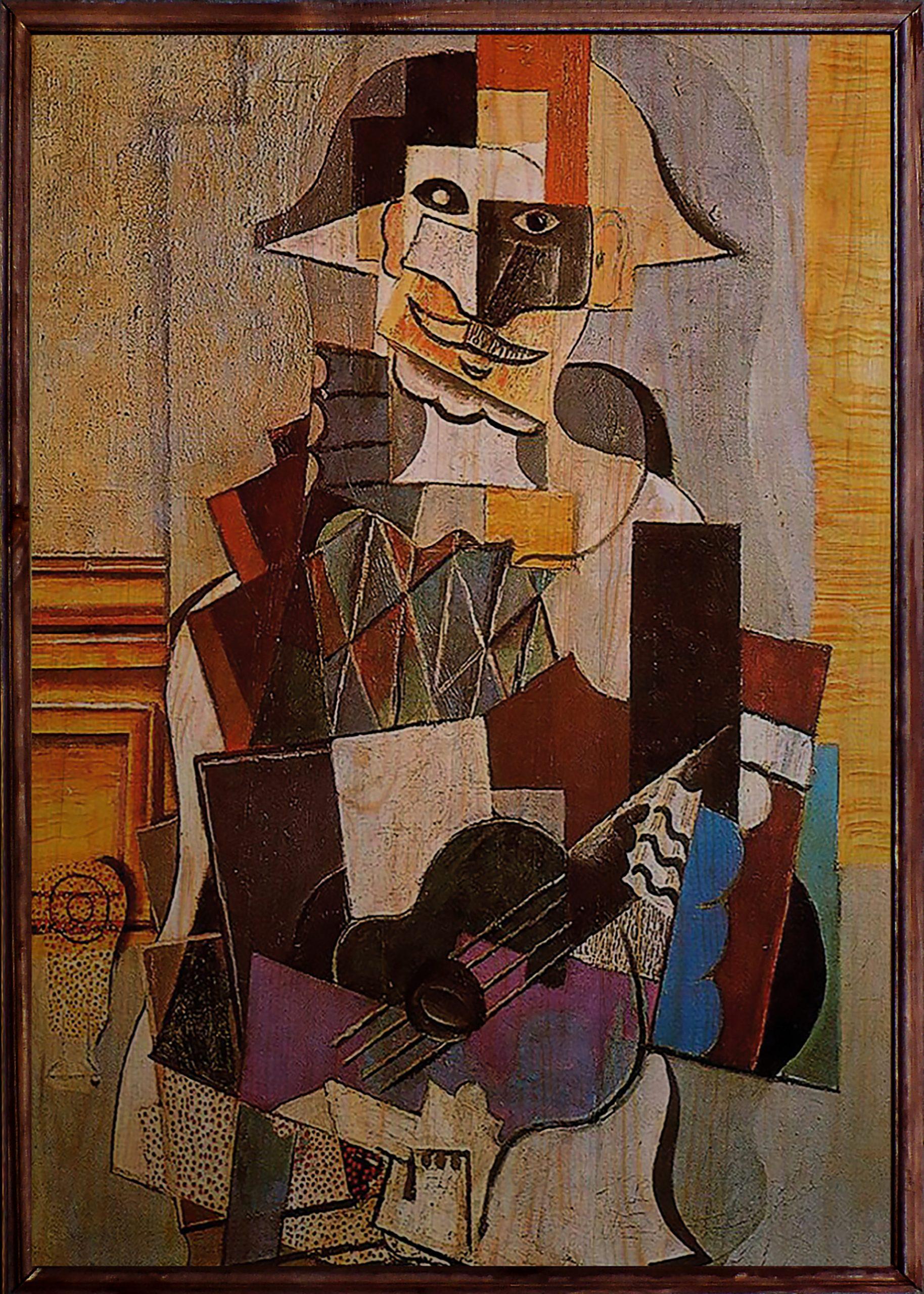 Picasso Ahşap Tablo