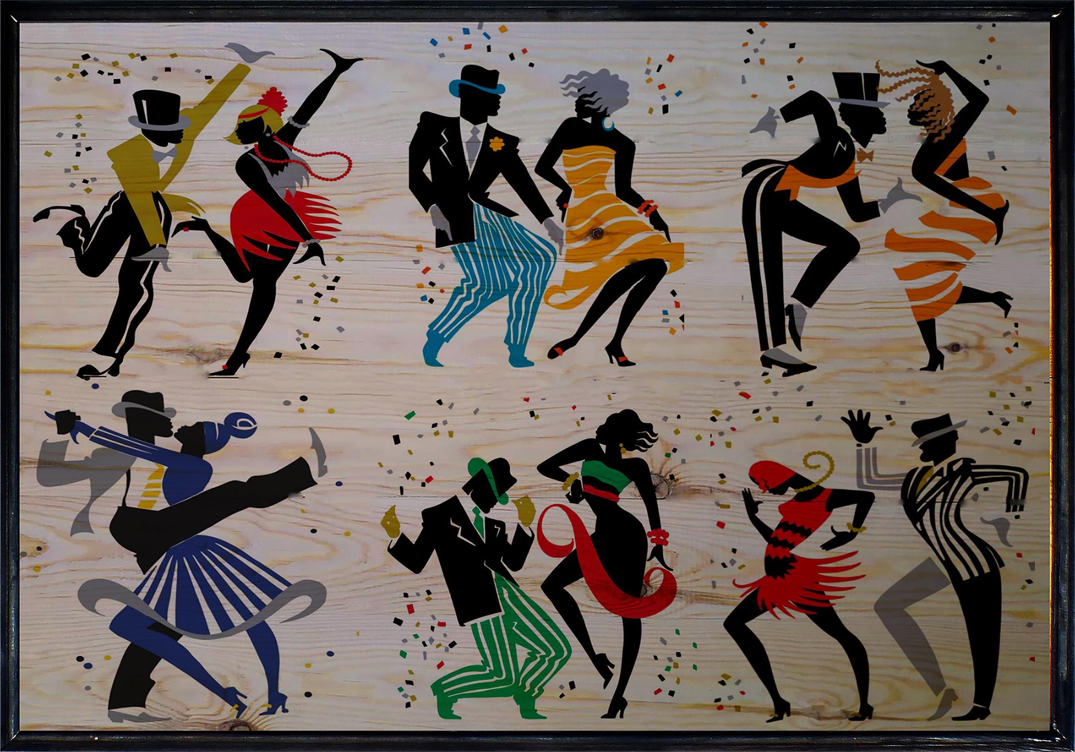 Dance Ahşap Tablo