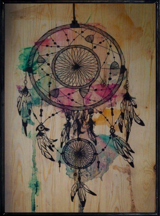 Dreamcatcher  Ahşap tablo