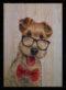Dog 3'lü Set Ahşap Tablo