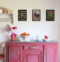 Flamingo Üçlü Set Ahşap Tablo