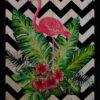 Flamingo  3'lü Set Ahşap Tablo