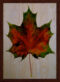 Autumn Leaf Üçlü Set Ahşap Tablo