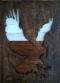 Eagle Ahşap Duvar Dekoru