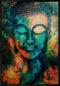 Buddha Ahşap Tablo